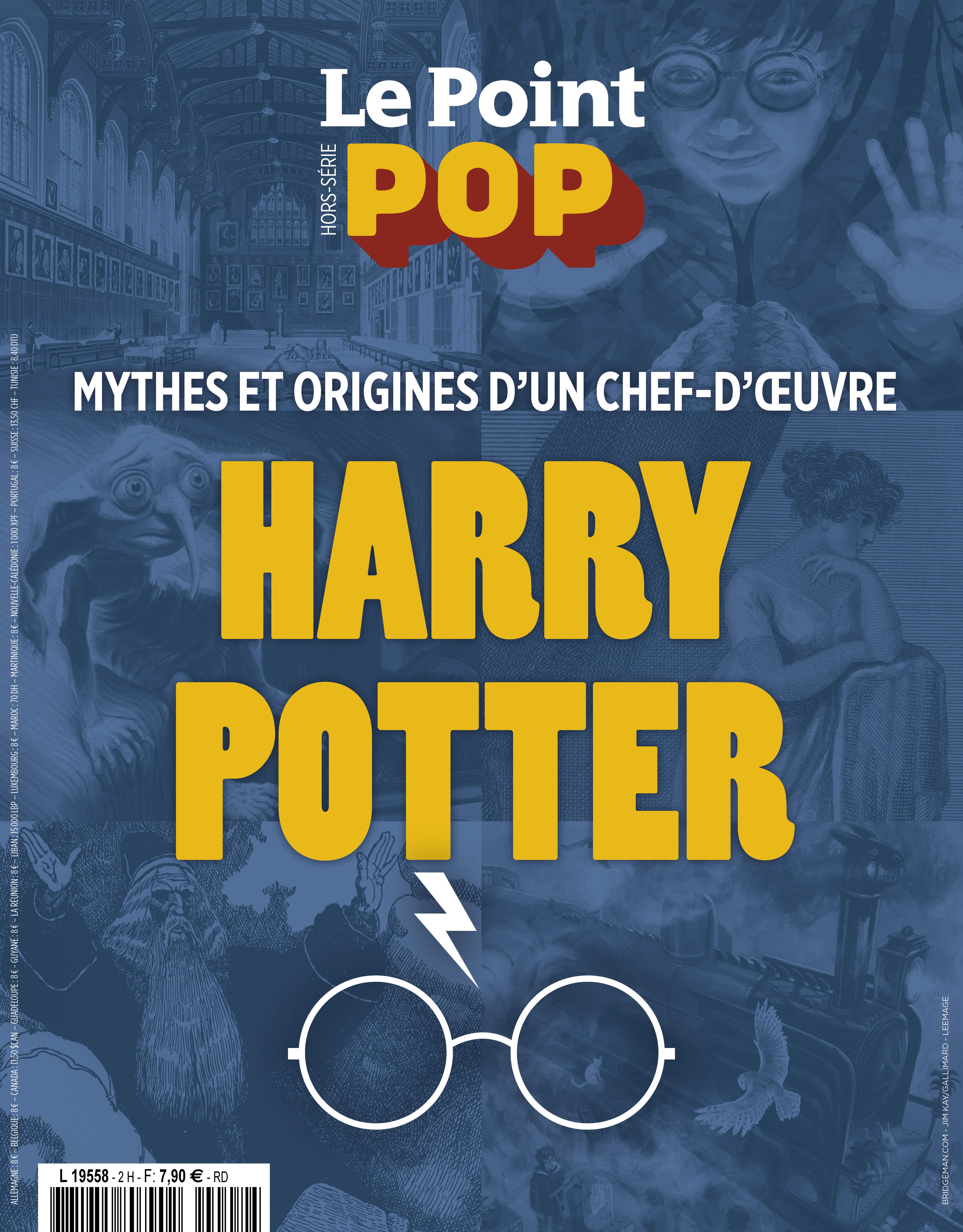 Concours : Hors-série spécial Harry Potter par le Point Pop