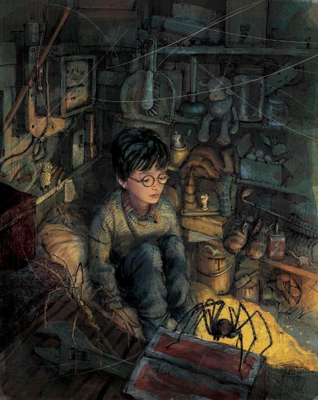Deux ans d'attente pour Harry Potter 4 illustré par Jim Kay