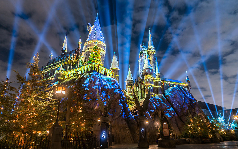 Noël se prépare au Wizarding World Harry Potter d'Orlando [MàJ]