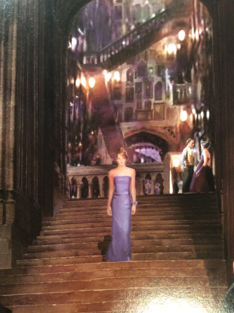 robe bleue hermione