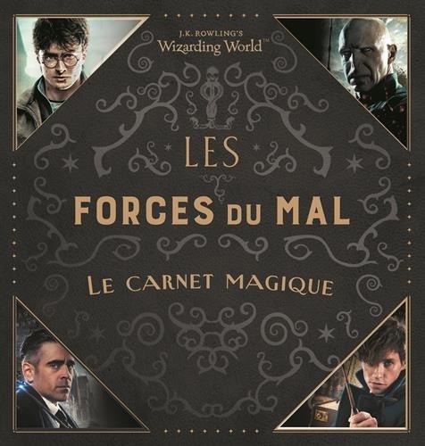 Couverture du Carnet Magique : LEs Forces du Mal chez Gallimard