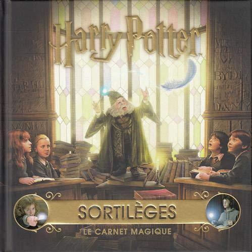 """Couverture du Carnet Magique """"Sortilèges"""" chez Gallimard Jeunesse"""