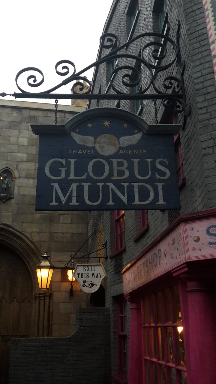 Globus Mundi ; le mystère plane au Wizarding World of Harry Potter