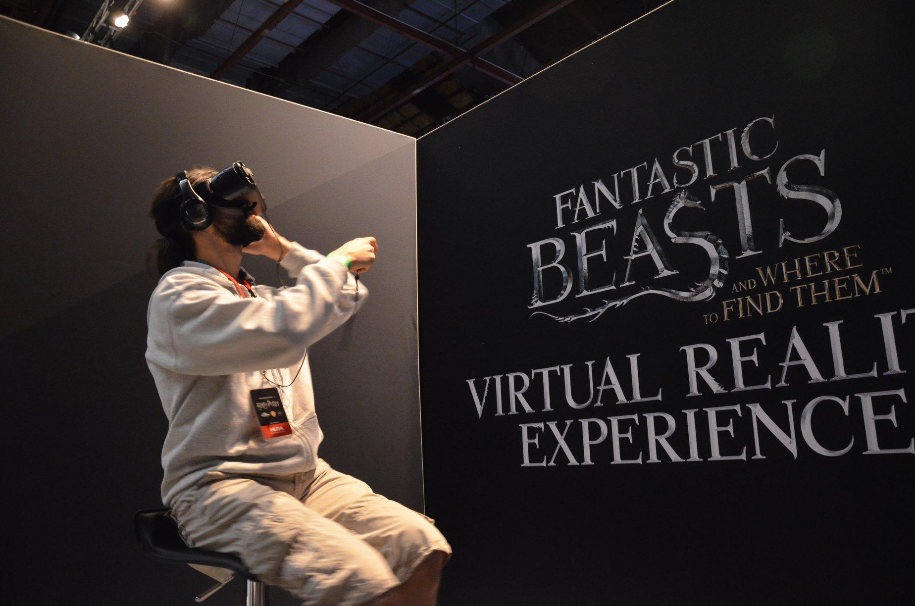 Exclusif : On a visité la valise de Newt en réalité virtuelle aux célébrations Harry Potter
