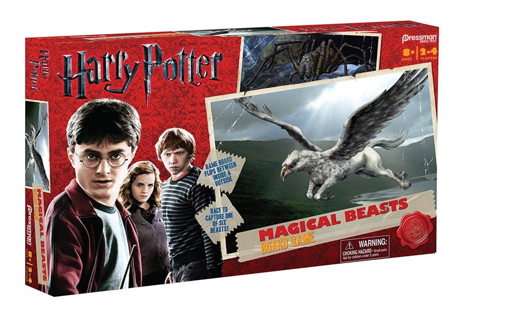 Visuel de la boîte du jeu de société Harry Potter: Magical Beasts
