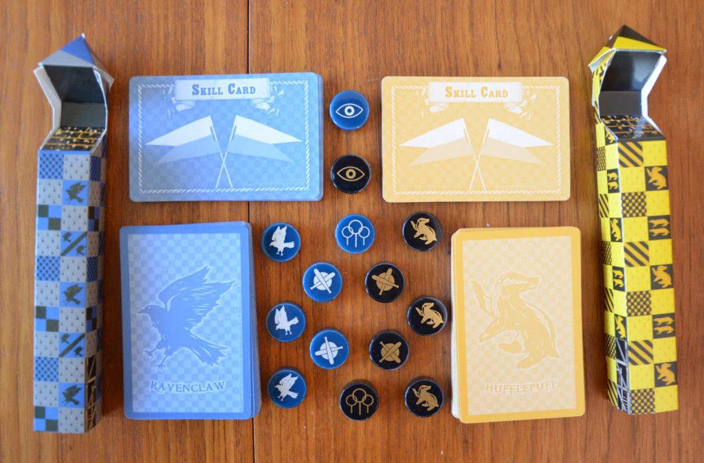 Extension du jeu de société Quidditch - Poufsouffle et Serdaigle