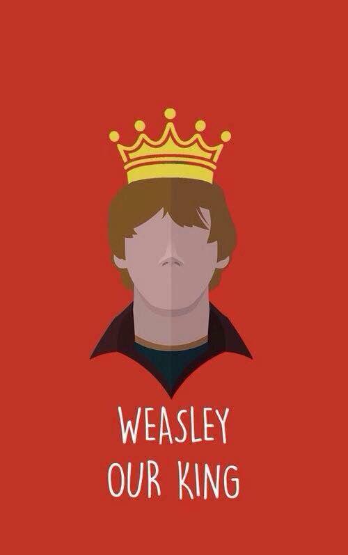 Affiche Weasley est notre roi