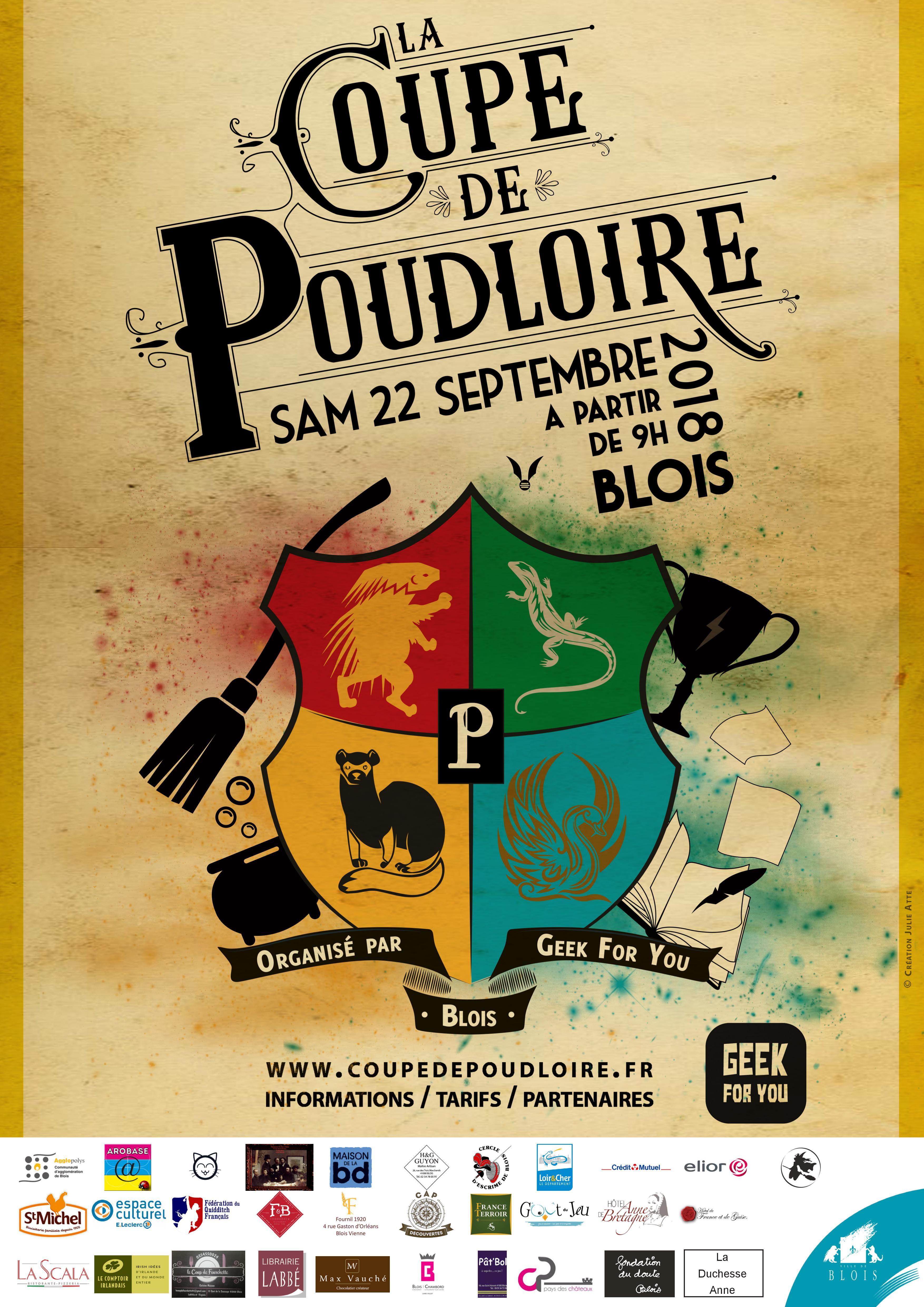 La Coupe de Poudloire revient à Blois !