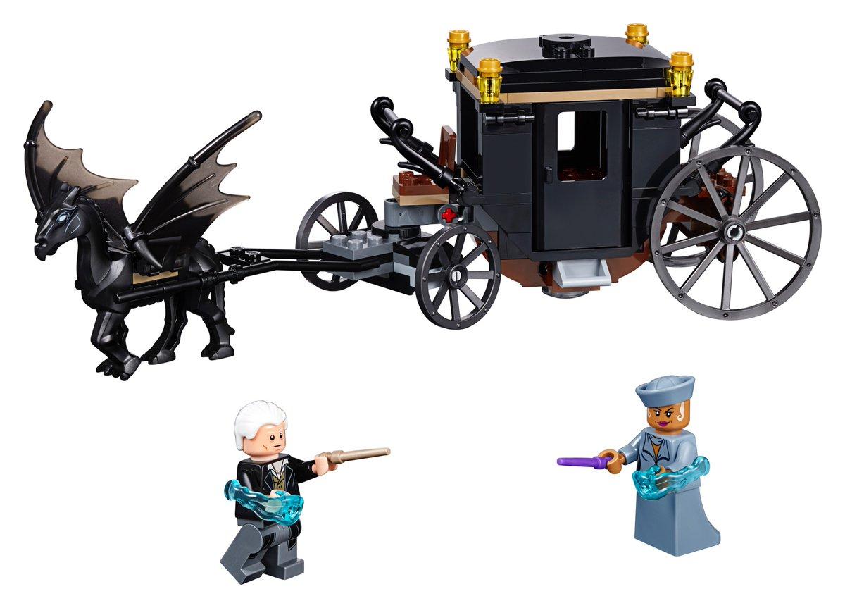 LEGO dévoile la première boîte Animaux Fantastiques