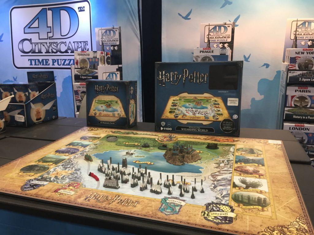 Puzzle Harry Potter 3D map de Poudlard