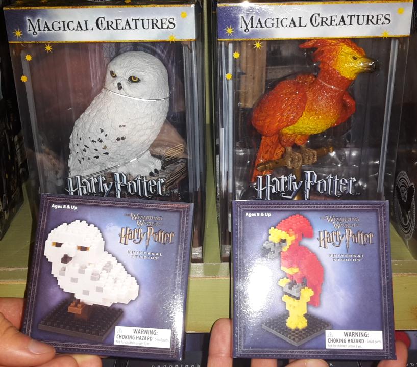 Nanoblocks : en attendant les LEGO Harry Potter