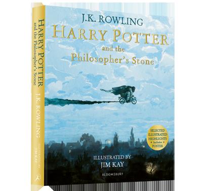 Harry Potter illustré par Jim Kay publié en version souple
