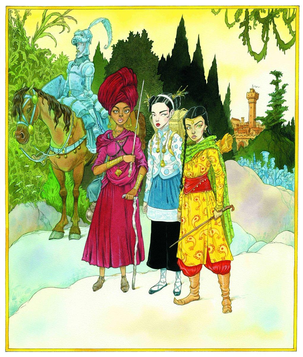 Les Contes de Beedle le Barde illustré : premiers aperçus ! [MAJ]