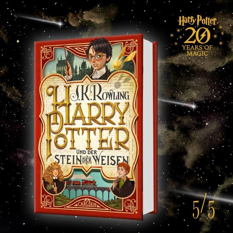 Editions anniversaire pour les 20ans d'Harry Potter en Allemagne