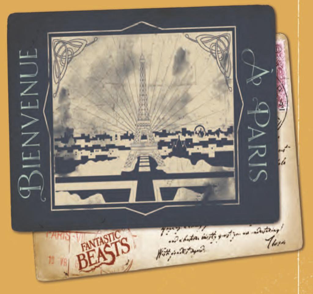 Carte postale Paris Animaux Fantastiques 2