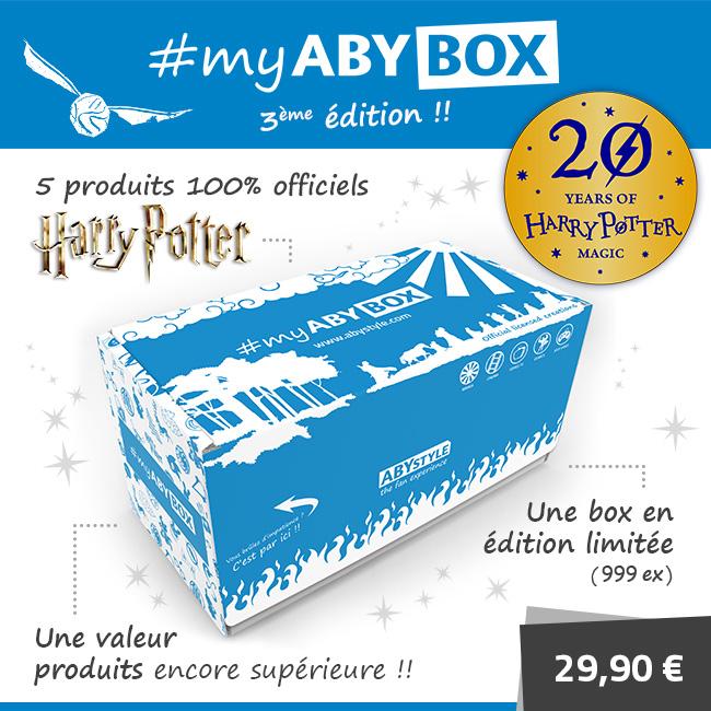 CONCOURS : Gagnez la box Harry Potter édition limitée de ABYstyle !