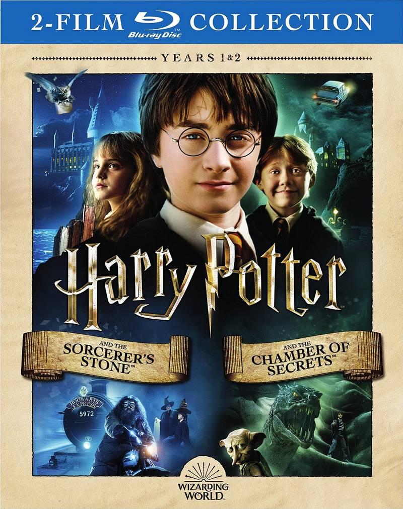 De nouveaux ensembles Blu-ray pour Harry Potter : 2 films en 1