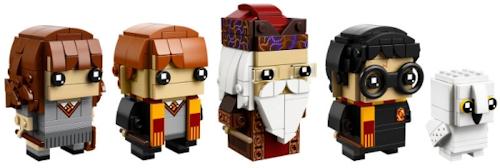 Les premières BrickHeadz LEGO Harry Potter enfin dévoilées !