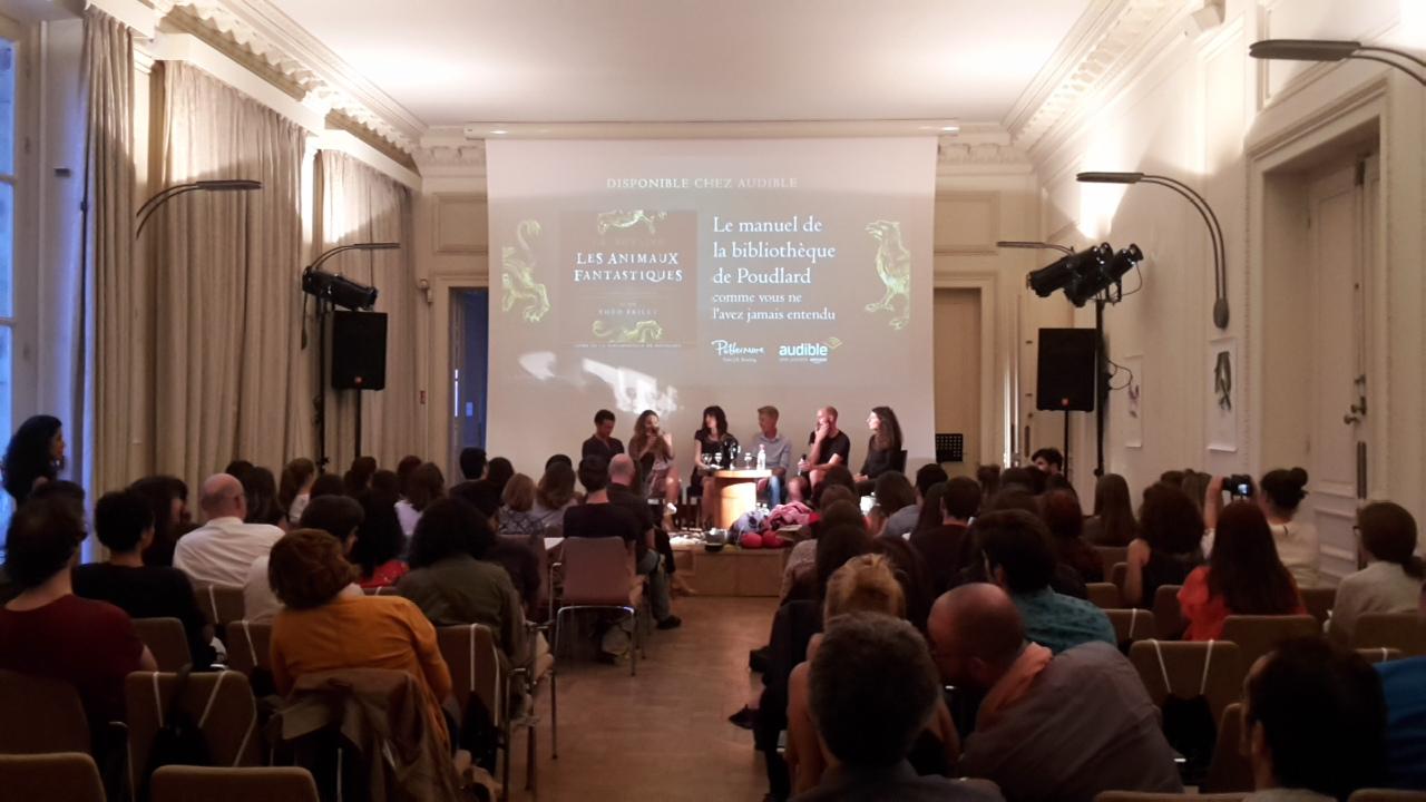 Compte-rendu : soirée de lancement du livre audio des Animaux fantastiques par Audible