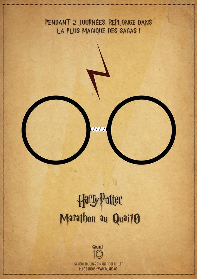 Concours flash : marathon Harry Potter à Charleroi