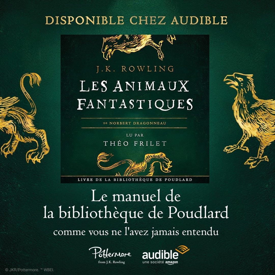 CONCOURS : Gagnez un livre audio Audible à l'occasion de la sortie des Animaux fantastiques !