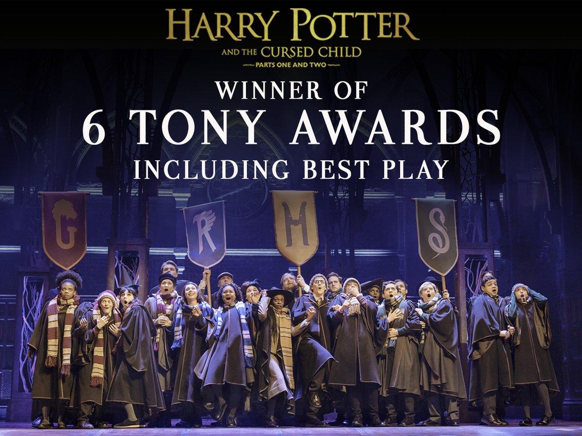 Harry Potter and the Cursed Child à Broadway, et encore plus de récompenses !