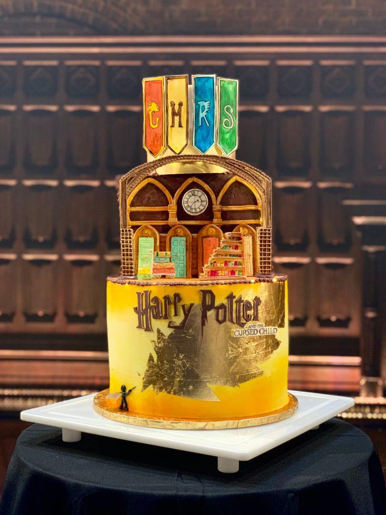 Gâteau Harry Potter pour Cursed Child à San Francisco
