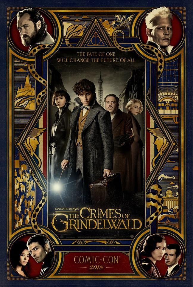Une nouvelle bande-annonce des Crimes de Grindelwald dévoilée à la ComicCon !