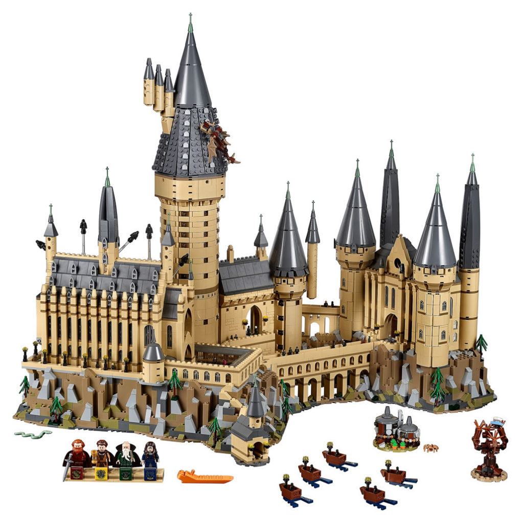 LEGO Château de Poudlard D2C