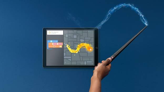 Apprendre à coder grâce à Harry Potter et une baguette interactive !