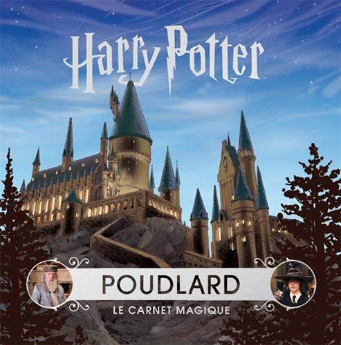 Couverture de Poudlard Le Carnet Magique