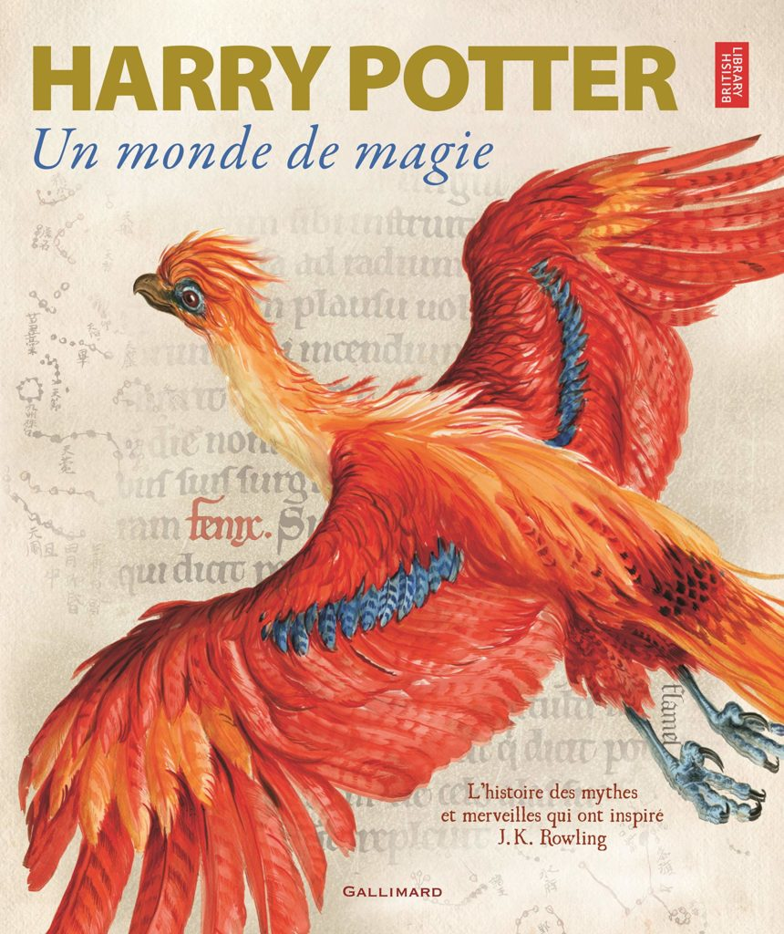 Couverture du livre Harry Potter : Un Monde de Magie, guide de l'exposition à la British Library