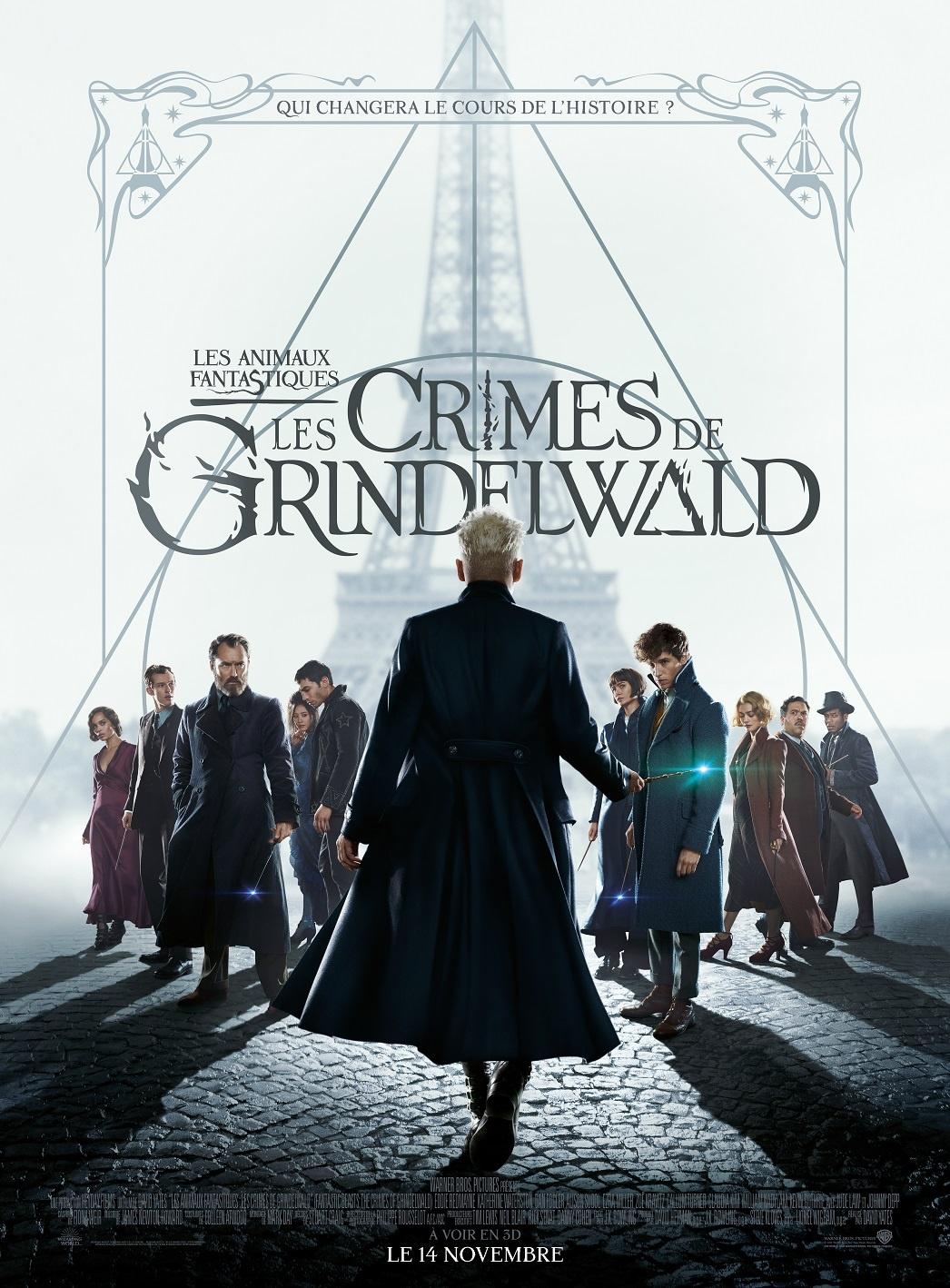 Avant-première mondiale des Crimes de Grindelwald à Paris : toutes les infos !