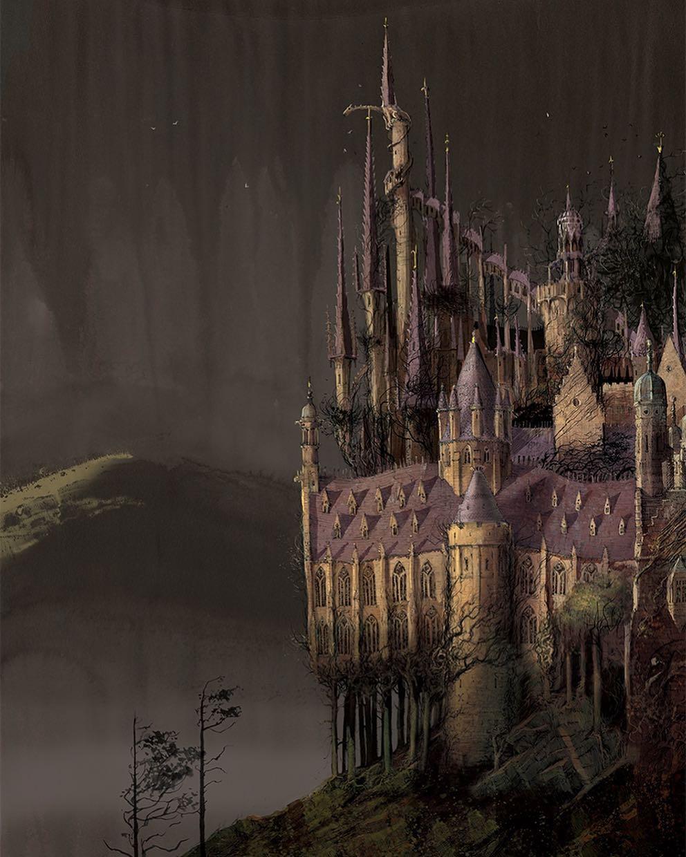 Des dessins et croquis de Jim Kay pour Harry Potter jamais publiés