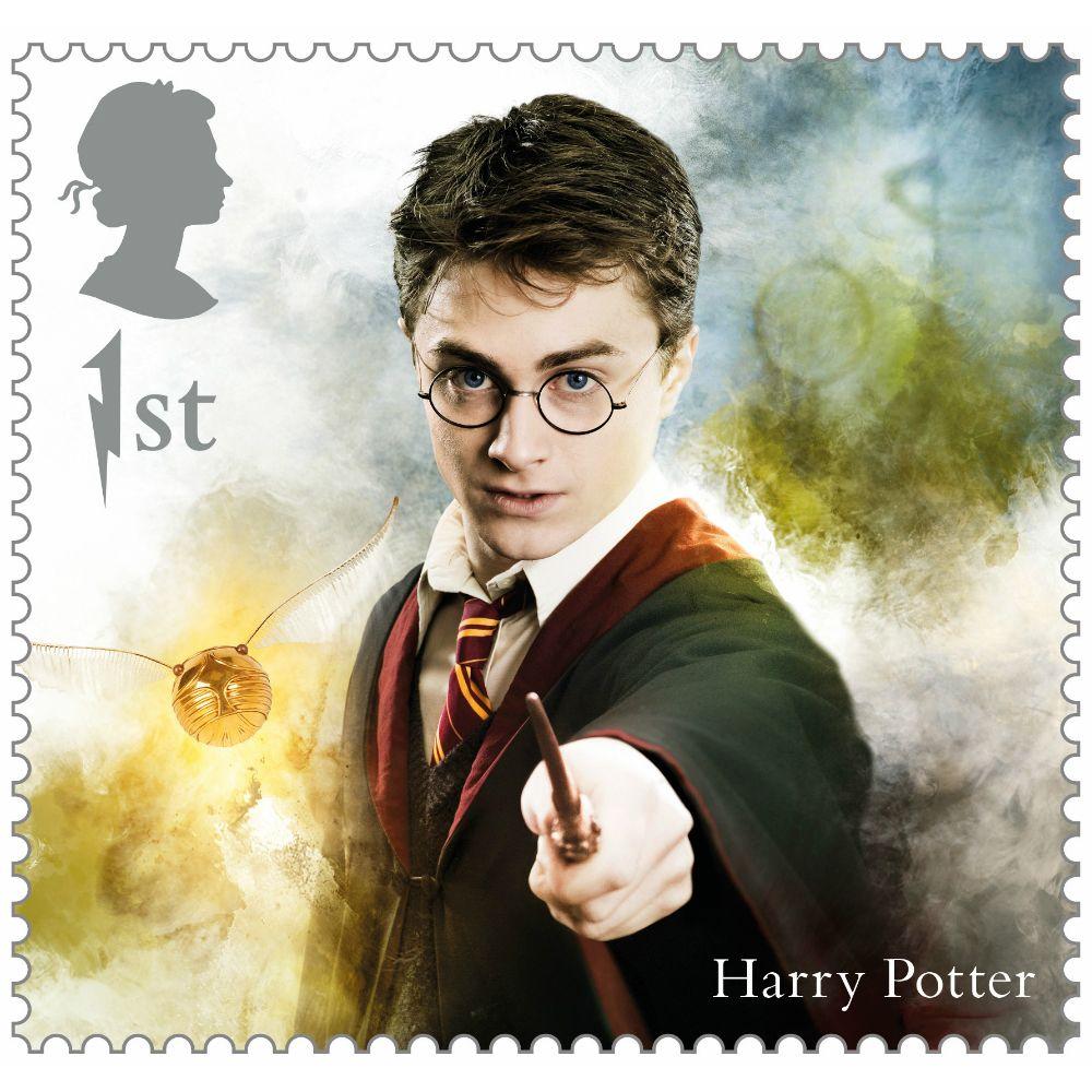 Royal Mail lance une nouvelle série de timbres Harry Potter en Angleterre