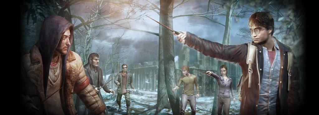 Image promotionnelle du jeux vidéo Harry Potter et les Reliques de la Mort