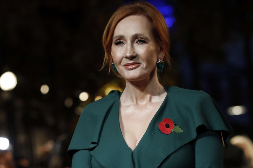 JK Rowling à Paris pour l'Avant-Première des Animaux Fantastiques - Les Crimes de Grindelwald