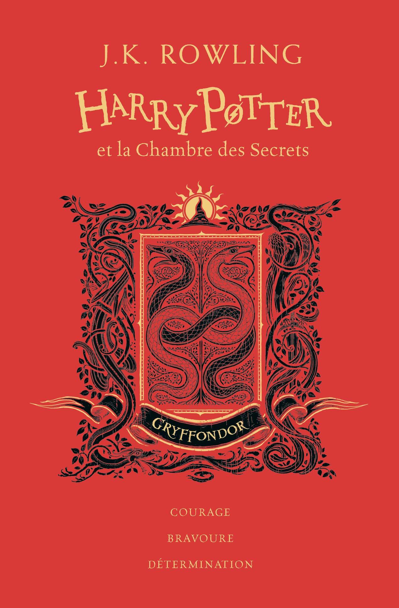 Couvertures de Harry Potter 2, édition 4 maisons chez Gallimard !