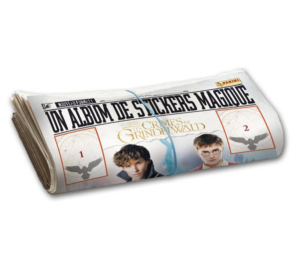 Un album Panini inédit pour le Monde Magique d'Harry Potter + CONCOURS