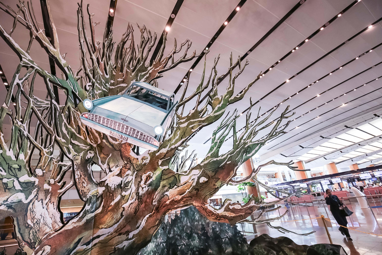 L'aéroport de Singapour se transforme en Chemin de Traverse