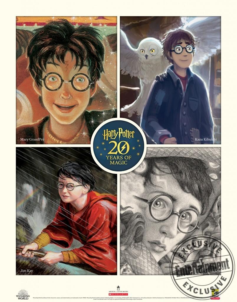 Les illustrateurs de Harry Potter parlent de leur travail lors du SD Comic Con