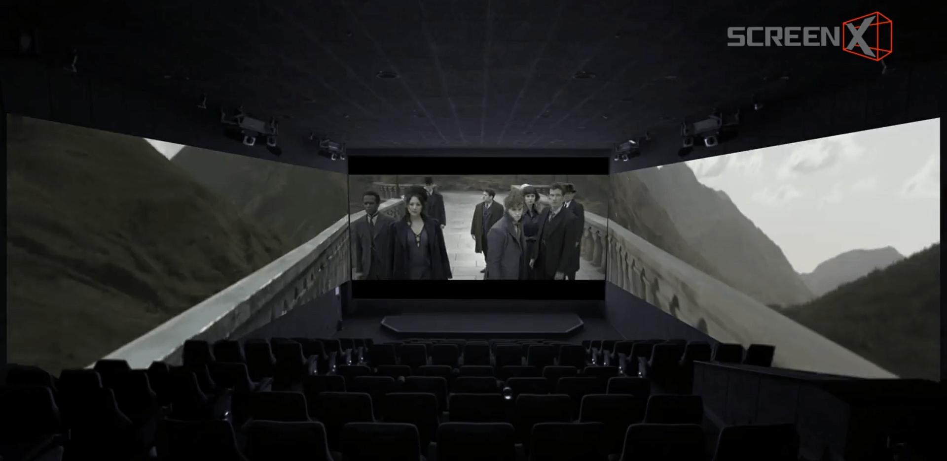 Des projections immersives pour Les Crimes de Grindelwald