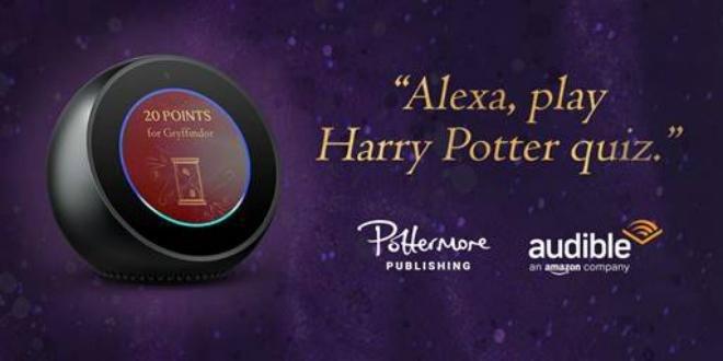 Répondez à des questions Harry Potter tous les jours avec Alexa
