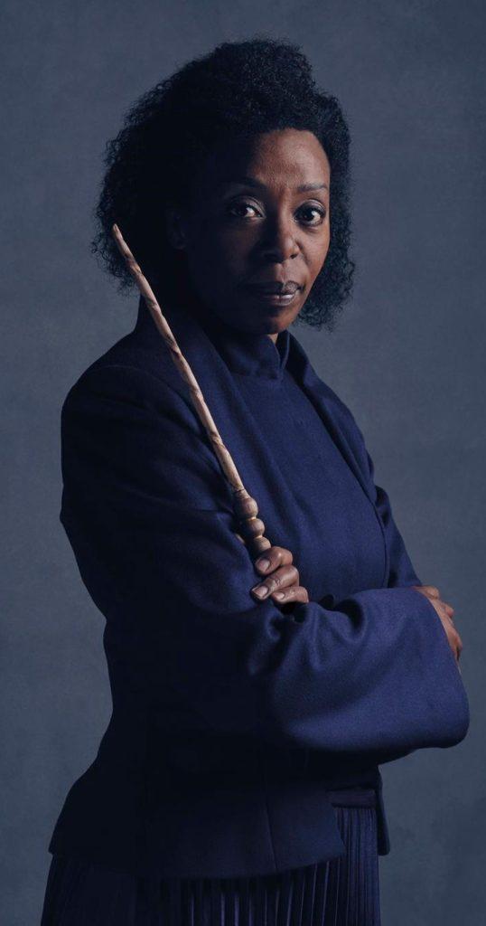 Hermione incarnée par Noma Dumenzweni dans la pièce Harry Potter et l'Enfant Maudit