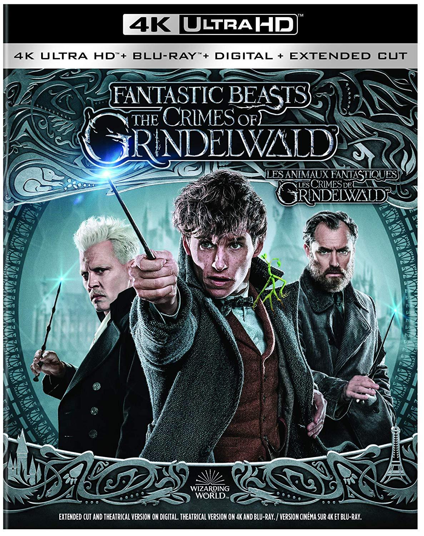 Les Crimes de Grindelwald : une version longue avec les Blu-ray?