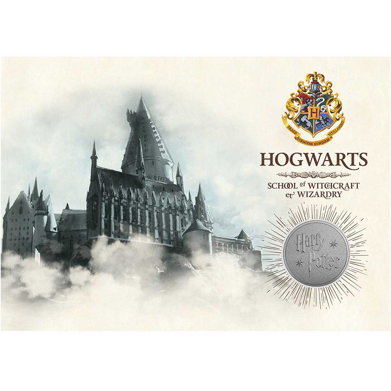 La Monnaie Royale britannique dévoile des médailles Harry Potter