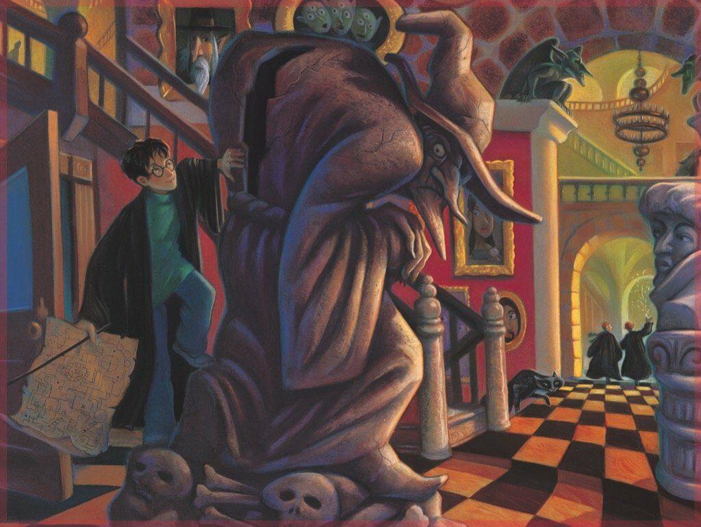 Illustration de la Sorcière Borgne par Mary Grandpré