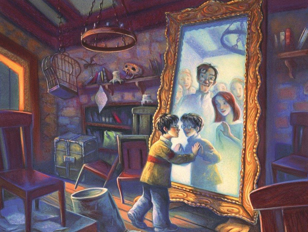 Les illustrations d'Harry Potter oubliées