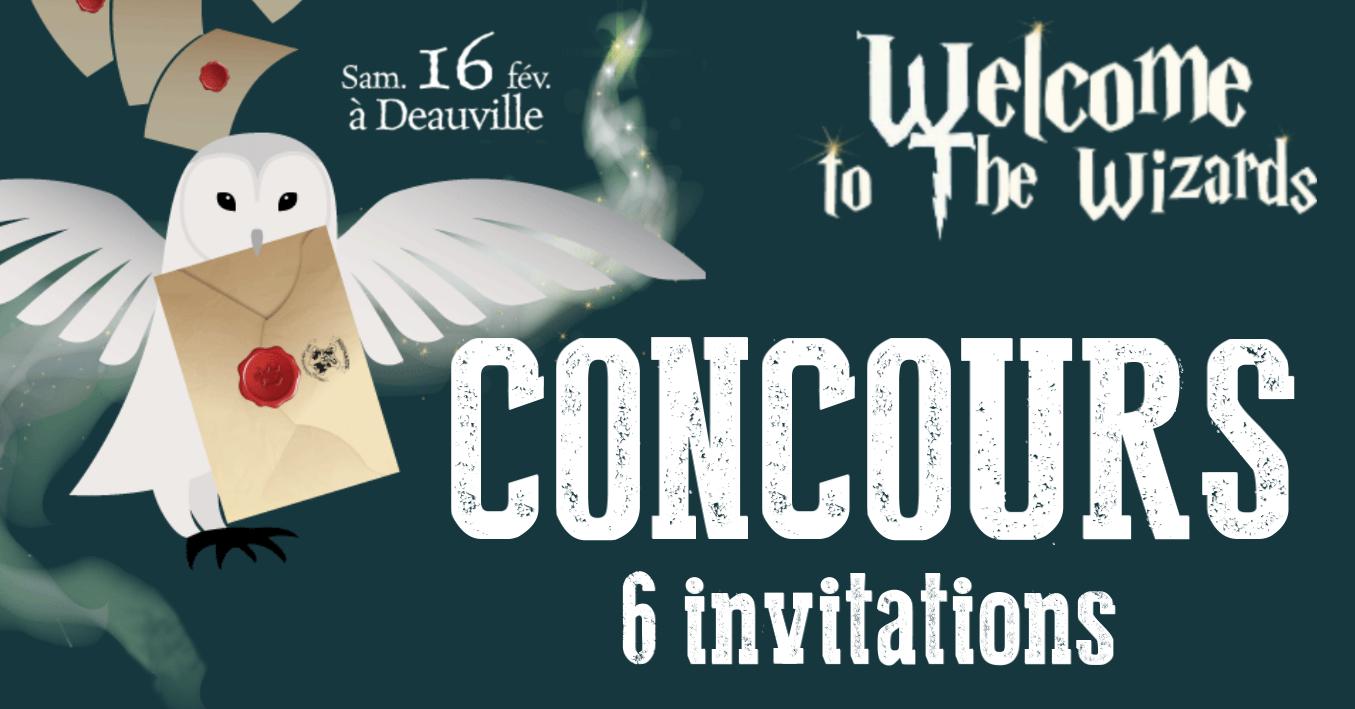 CONCOURS : 3×2 invitations pour la journée Harry Potter à Deauville