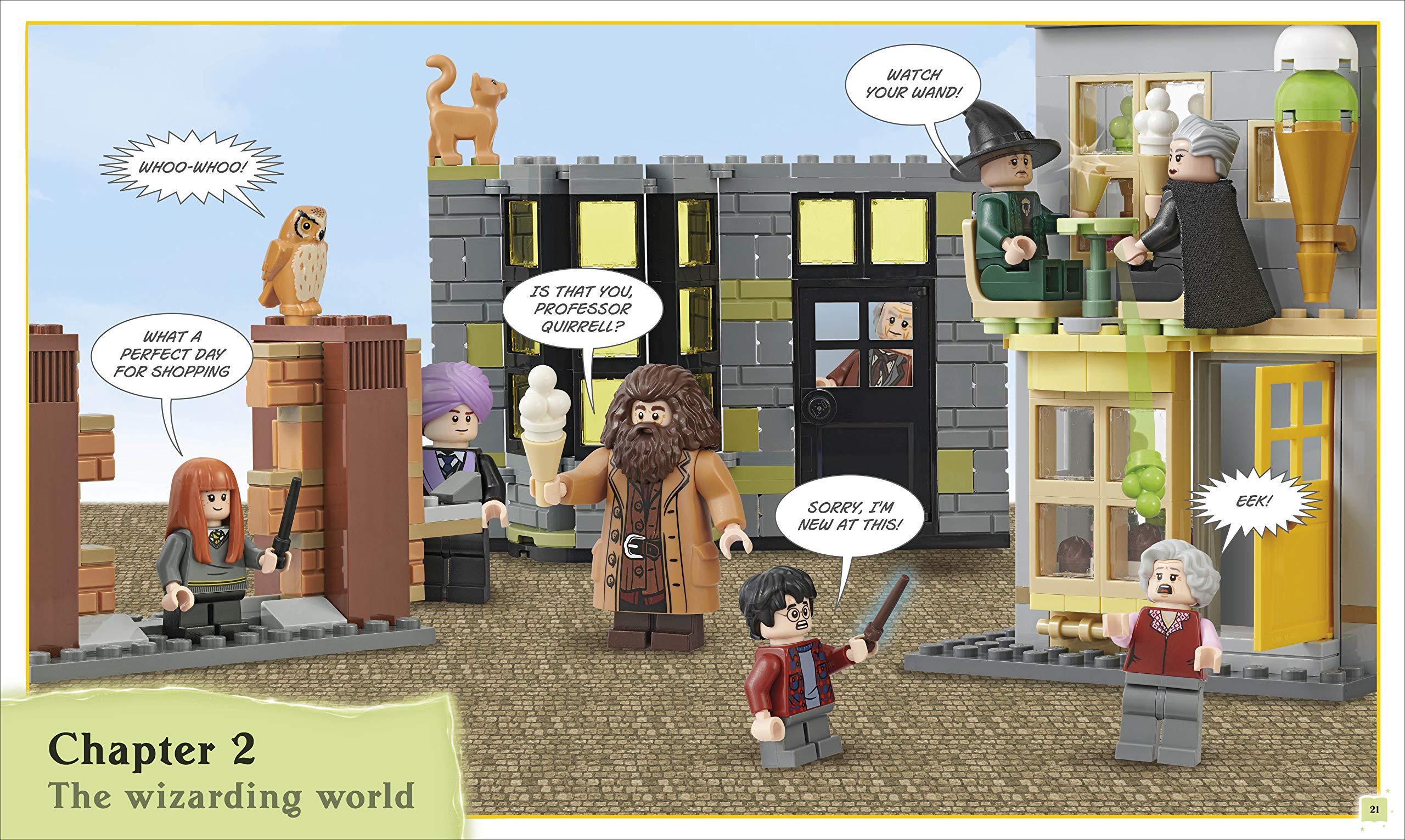 Construis ta propre aventure LEGO Harry Potter - Le Chemin de Traverse